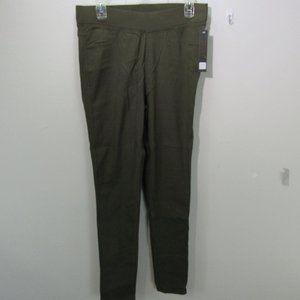 💖Jvini women's 1XL Olive green leggings B4-W7